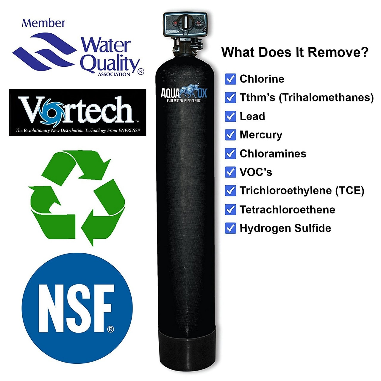 aquaox whole house water filter picture - Whole House Water Filtration System
