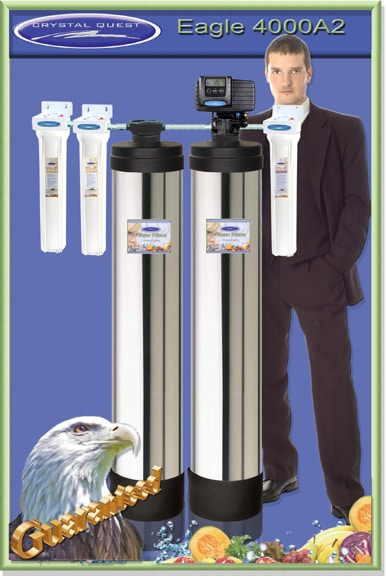 crystal quest whole house water filters picture - Whole House Water Filtration System
