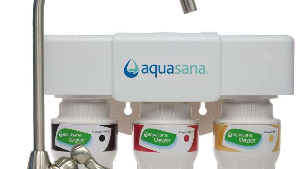 the aquasana 3stage under counter drinking water filter is one of the best water filters on the market eliminating over 60 types of